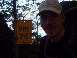 75km to go on the West Coast Trail 2015