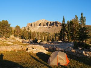 Alaska Basin Tent - Teton Crest Trail - Two Guys in the Woods