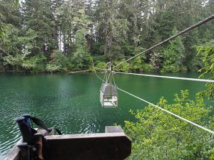 Klanwana Cable Car - West Coast Trail 2015