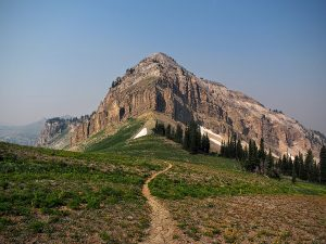 Along the Teton Crest Trail - Two Guys in the Woods
