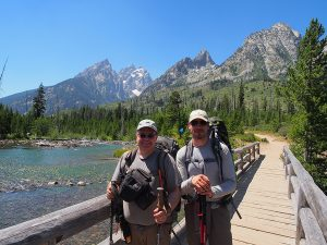 Another one for the books - Finishing up the Teton Crest Trail - two guys in the woods