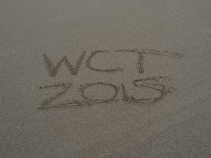 WCT 2015 on the beach sand - West Coast Trail 2015